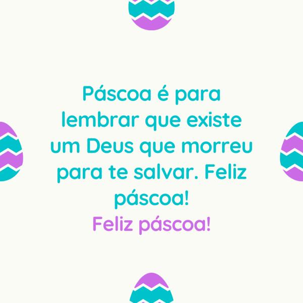 Mensagens com carinho para Páscoa