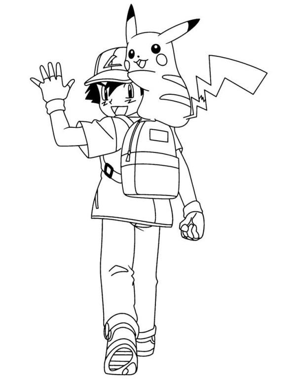 Pokémon e ash dupla perfeita