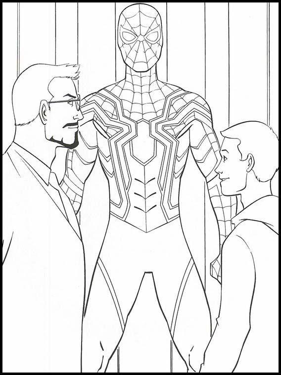 Desenhos do Homem aranha idolatrado
