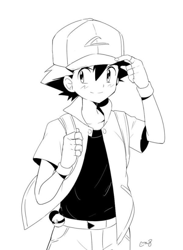 ash o querido do Pokémon