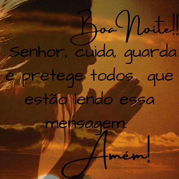 boa noite carinhoso com Deus