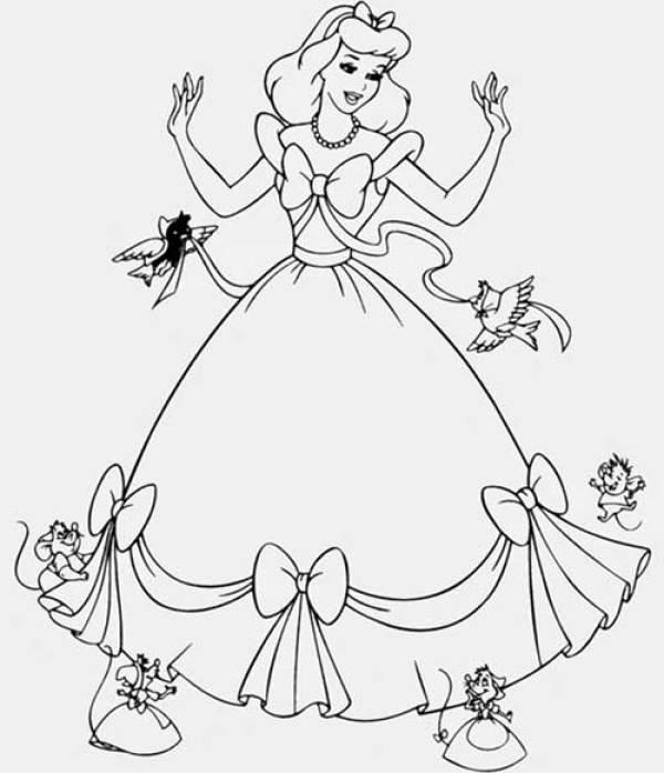 Princesa cinderela lindíssima