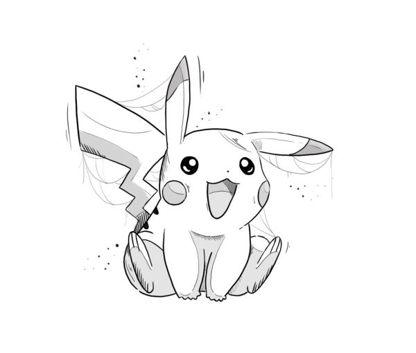 Pokémon com pikachu fofinho
