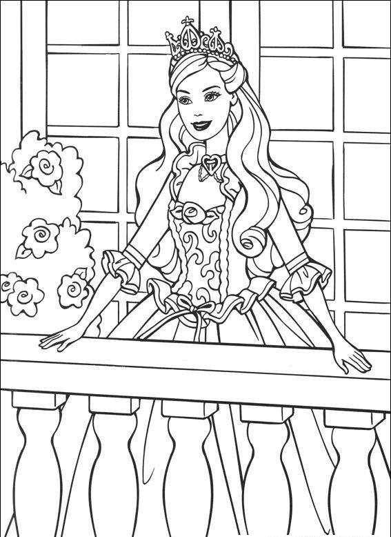 Pintar e colorir desenho princesas