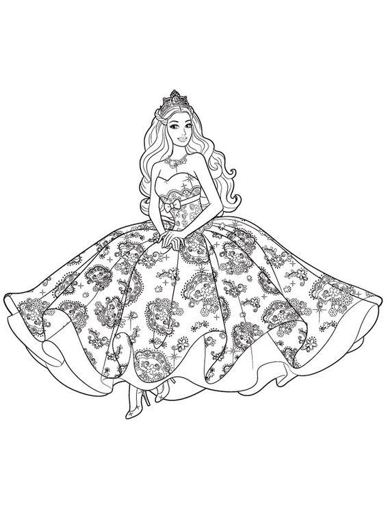Princesa desenho lindo