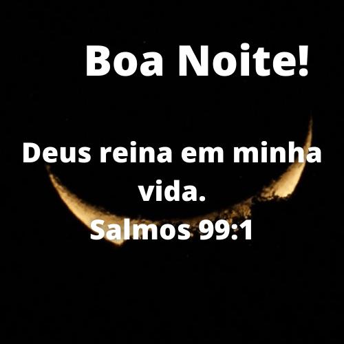 boa noite bíblico para refletir vida