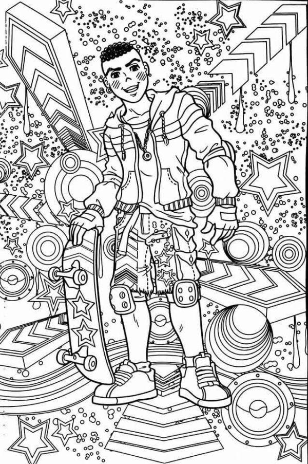 Imagem do desenho de cascão