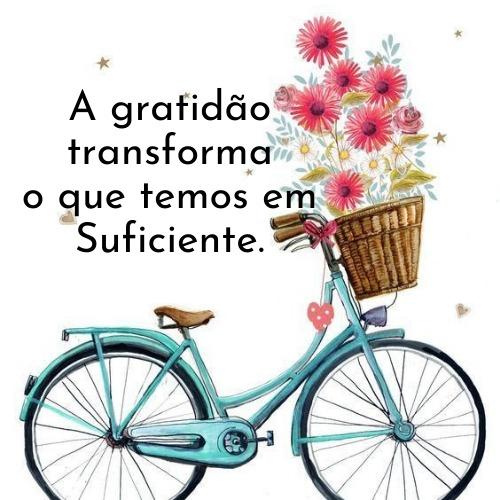 Gratidão pelas graças recebida na vida