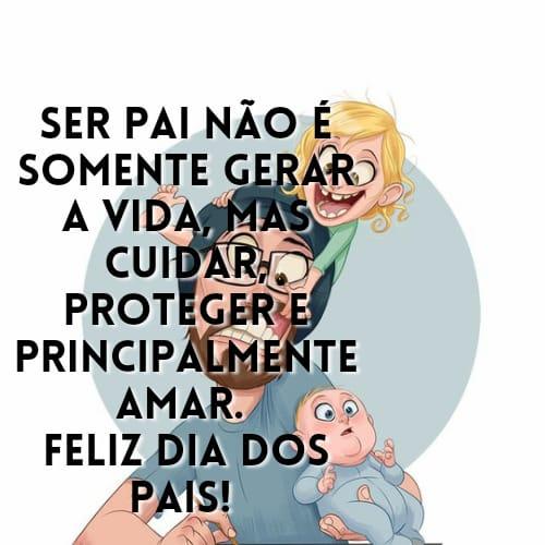 Mensagem para o dia dos pais feliz e lindo