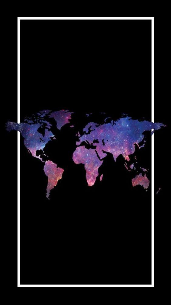 Papel de parede tumblr mapa