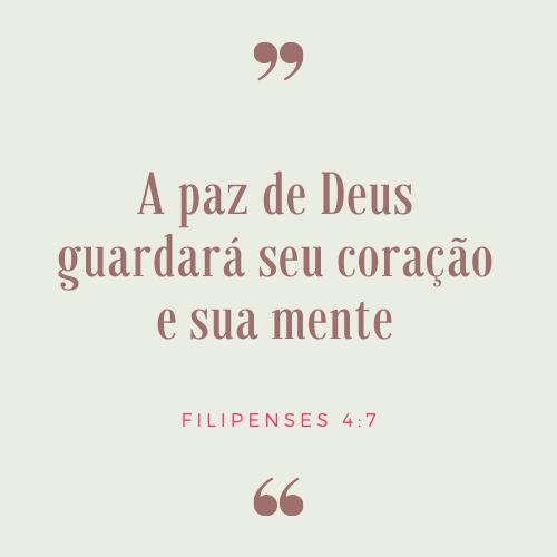 frases bíblicas de paz