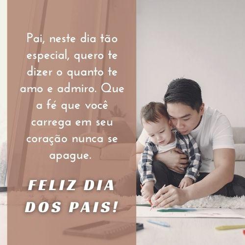 frases dia dos pais coração