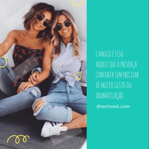 frases para bons momentos com amigos