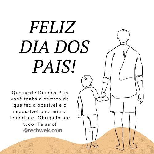 frases com carinho para compartilhar no dia dos pais