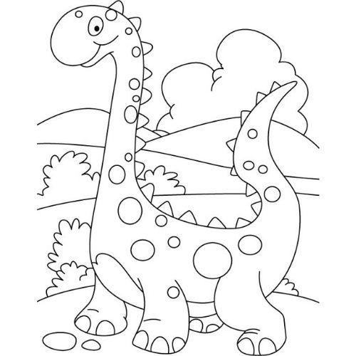 dinossauros para colorir legal