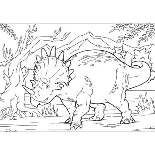 dinossauros para colorir dono do mundo