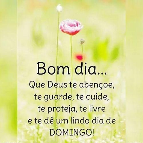 bom dia protegido por Deus