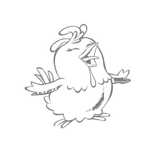 Desenhos galinha pintadinha para colorir claro