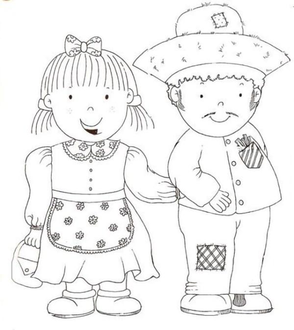 Desenhos de festa junina para colorir legal