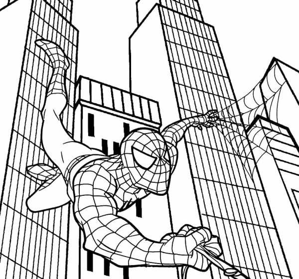 desenhos mais procurado do homem aranha