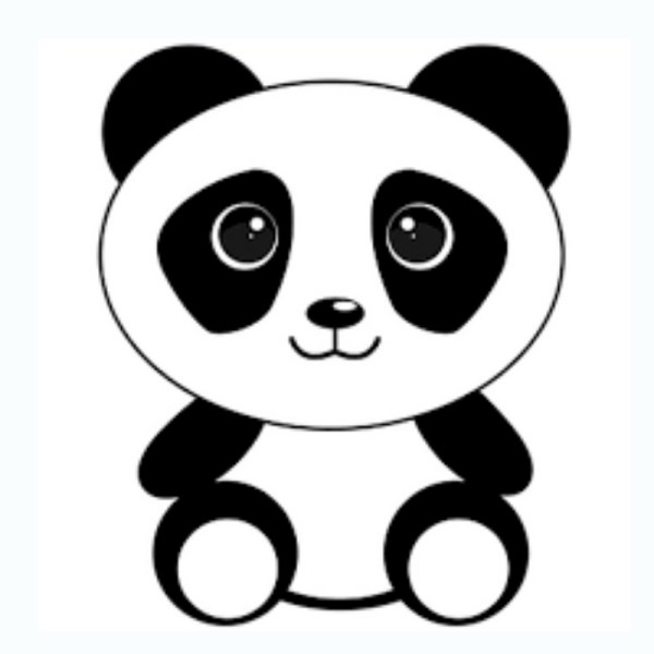 desenhos de urso panda