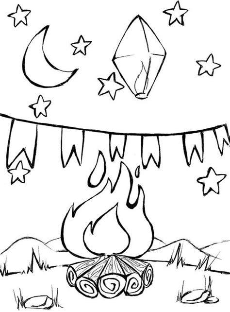 Desenhos de festa junina para colorir simples