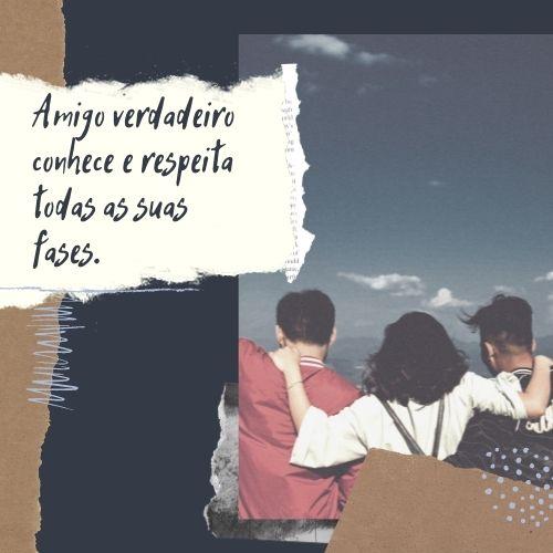 frases de amizade sorrisos