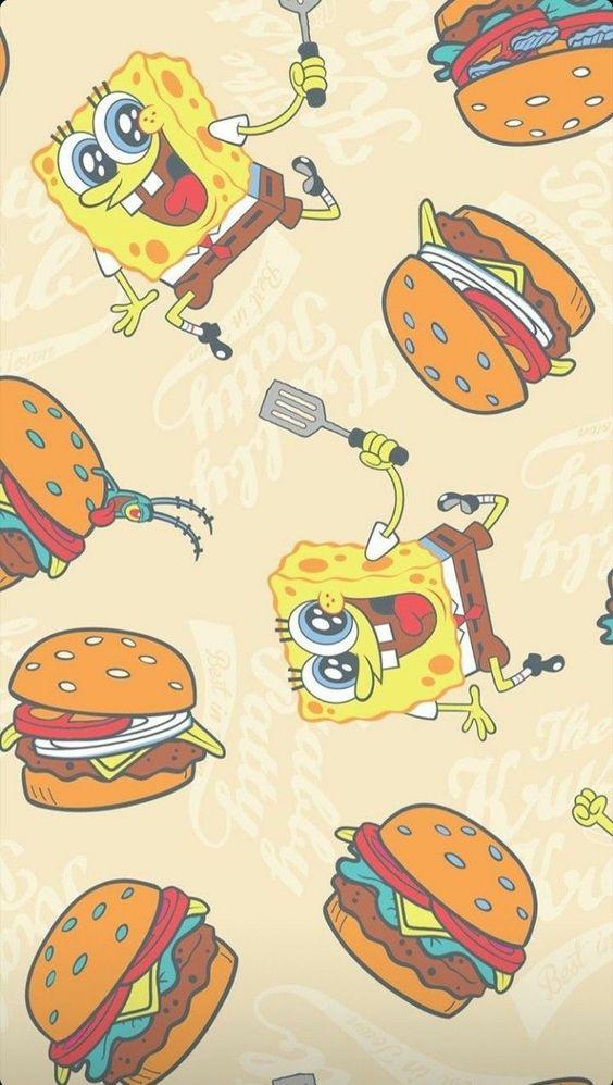 Wallpapers desenhos animados: bob esponja