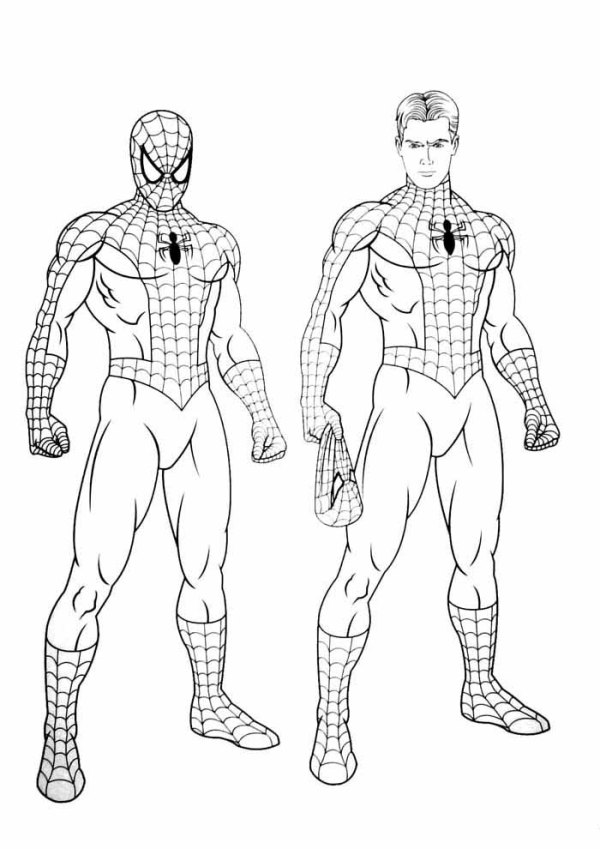 homem aranha desenhos
