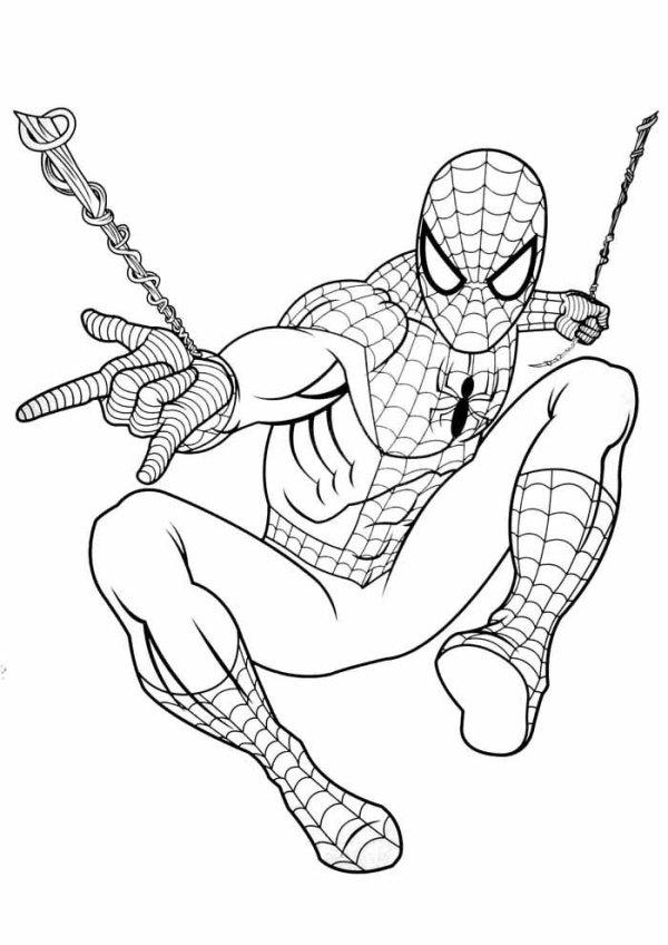 desenhos de baixar do homem aranha grátis
