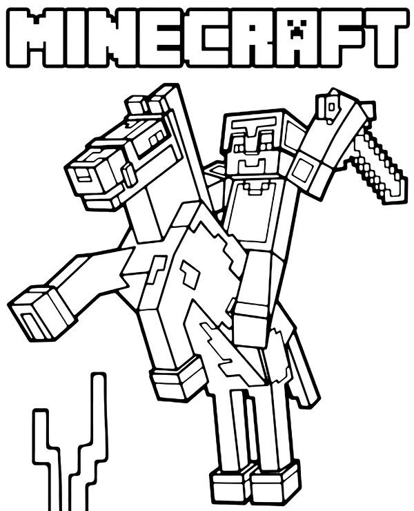 desenhos  Minecraft jogo