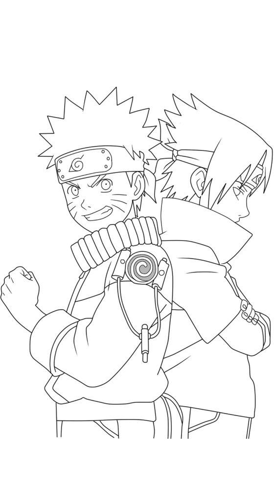 Naruto e Saske