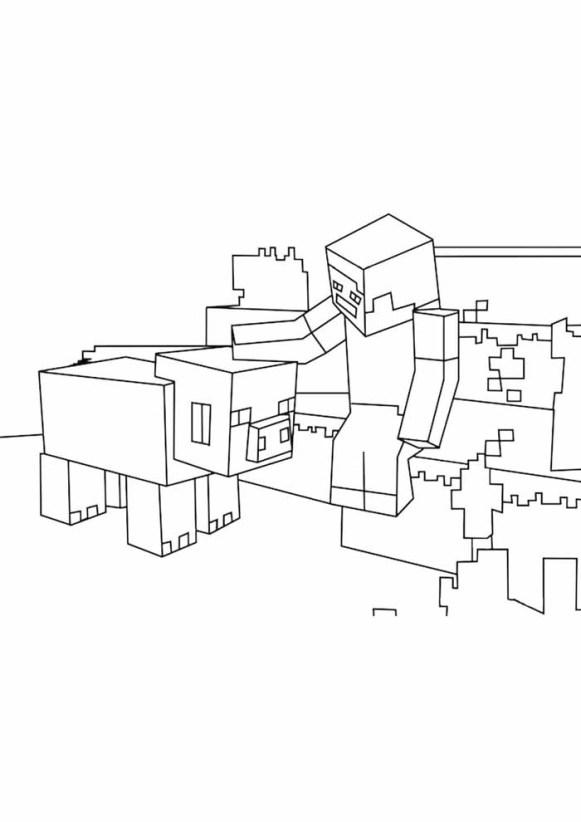 desenhos  Minecraft carinhoso