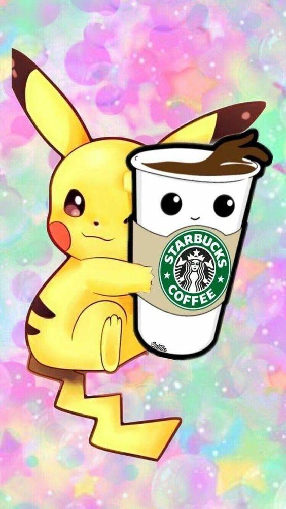 Wallpapers desenhos animados: pikachu fofo