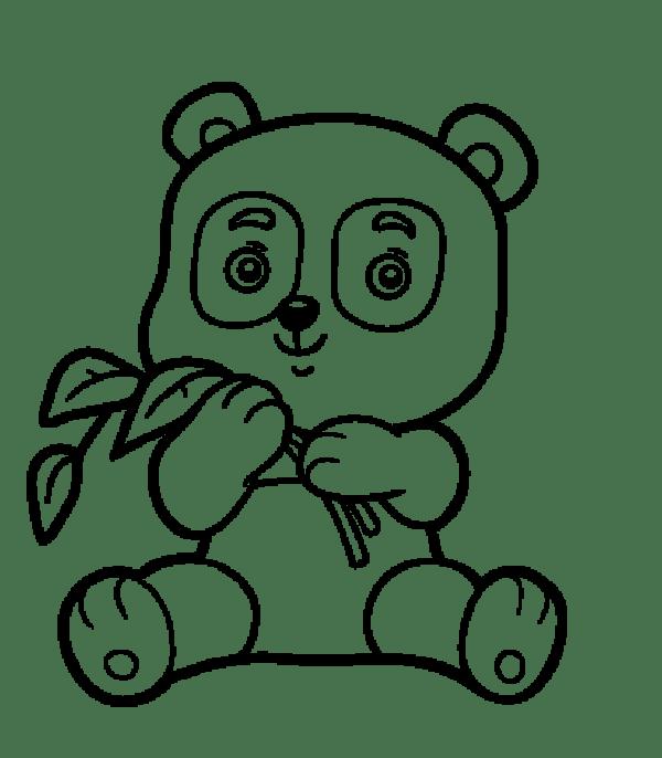 desenhos lindo do panda da kawaii