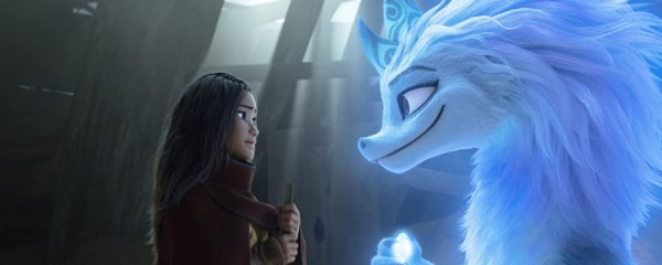Raya no filme com o Último Dragão