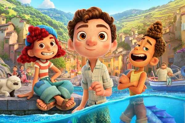 a animação da Disney Luca