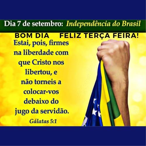 Terça feira 7 dia da independência