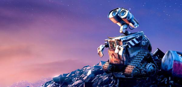 Robôzinho do filme Wall-E