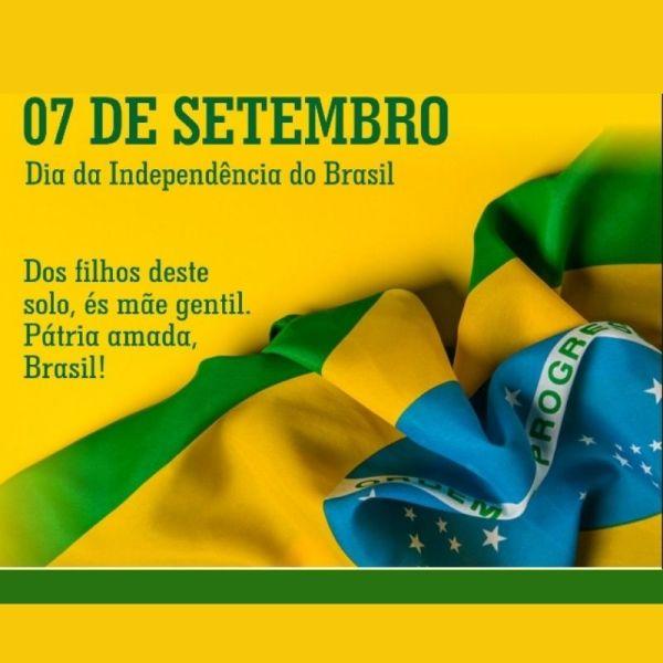 idependência da nossa nação brasileira