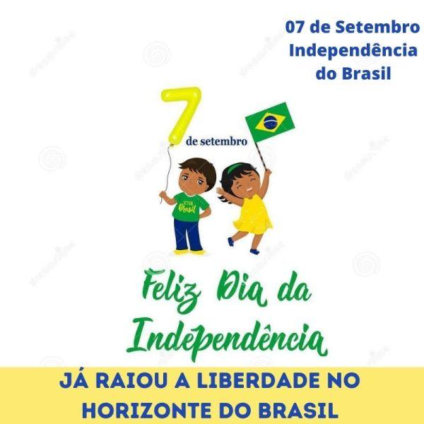 forte amor pelo Brasil 07 de setembro