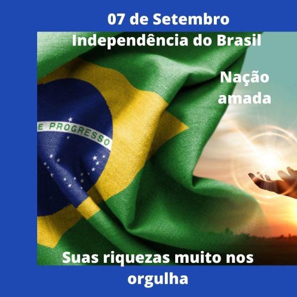 07 de setembro dia da independência do nosso brasil