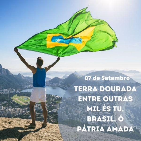 terra do meu Brasil 07 de setembro