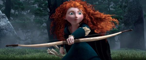 Merida é a corajosa e desajeitada princesa de Valente