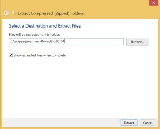 extract compressed files