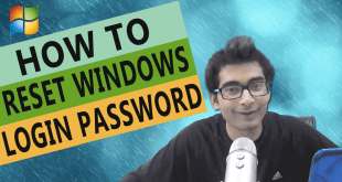 HOW TO RESET WINDOWS LOGIN PASSWORD