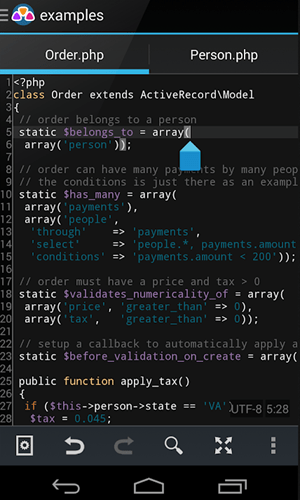 code editors for android - awd