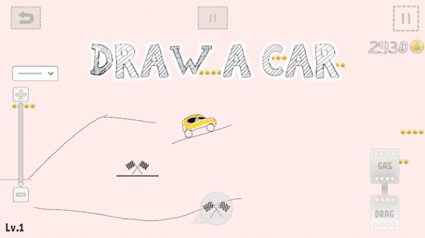 Android Drawing Games - Draw Your Car