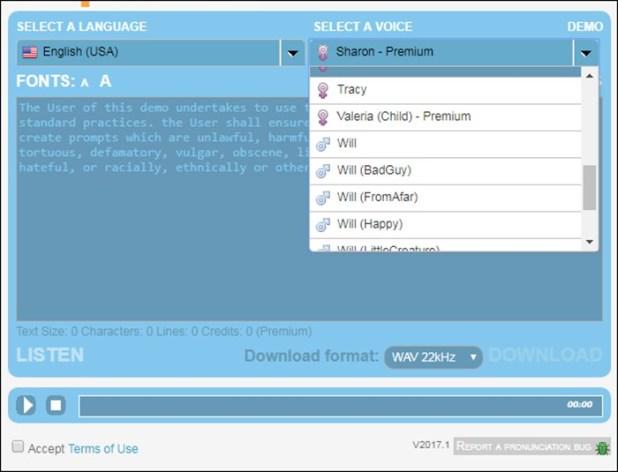 windows 7 narrator voices download