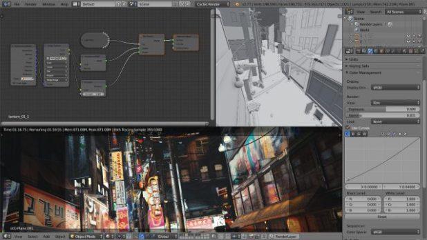 blender 3d video editor